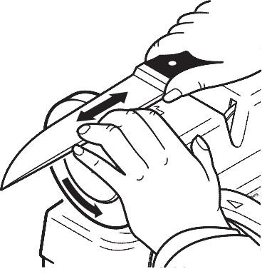 Полировка ножа
